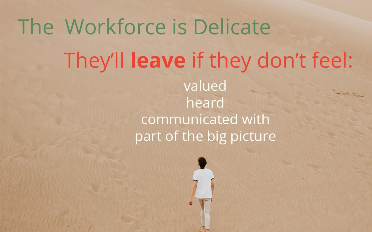 Delicate Workforce